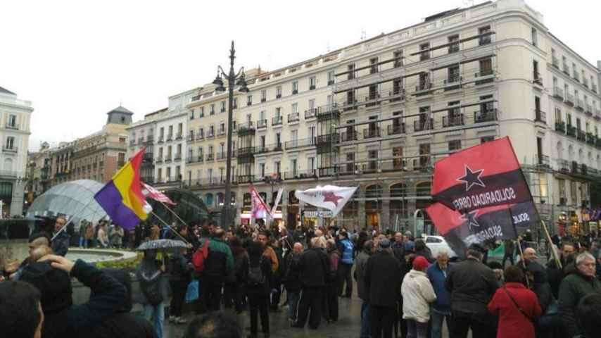 Miles de personas se manifestan en Madrid por la absolución de los titiriteros