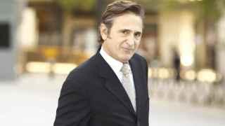 Josep Pujol, en la Audiencia Nacional tras declarar ante el juez De la Mata.