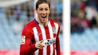 Fernando Torres celebra el gol contra el Getafe.