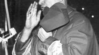 Visita de Karol Wojtyla a una iglesia de Cracovia en 1967.