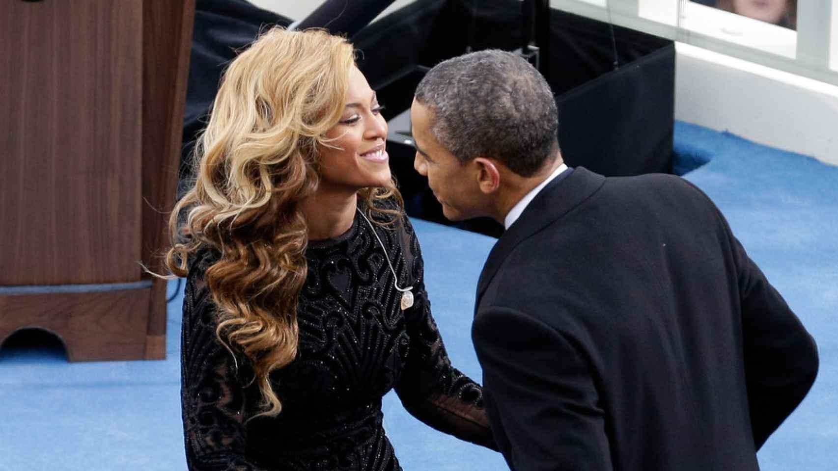 La cantante Beyoncé es una de las grandes defensoras de Obama