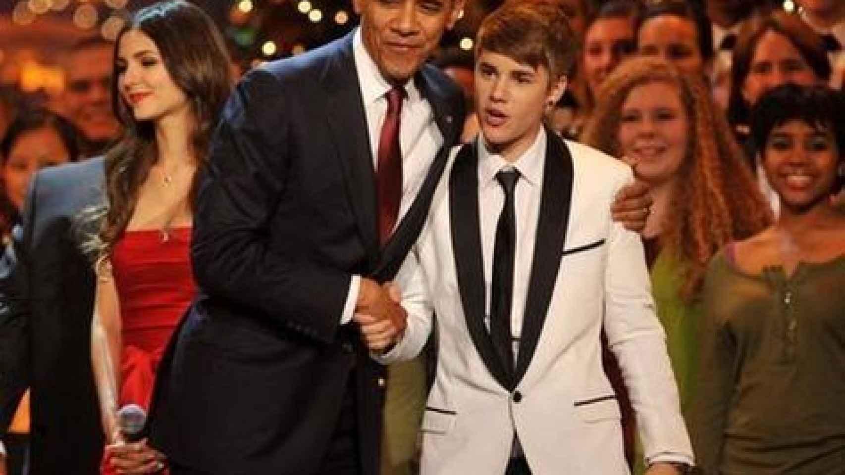 Justin Bieber actuó en una fiesta privada celebrada por los Obama
