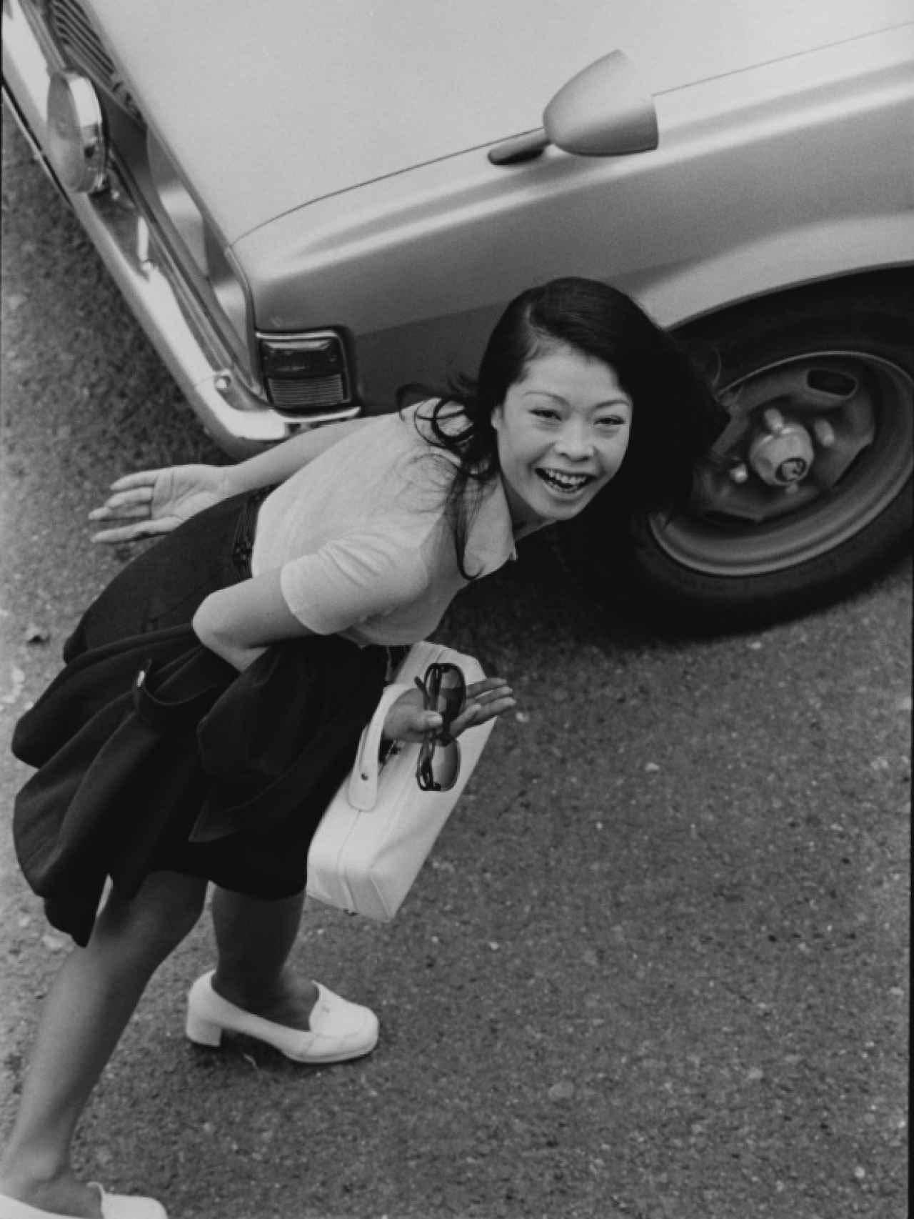 From Window (1974), de Masahisa Fukase.
