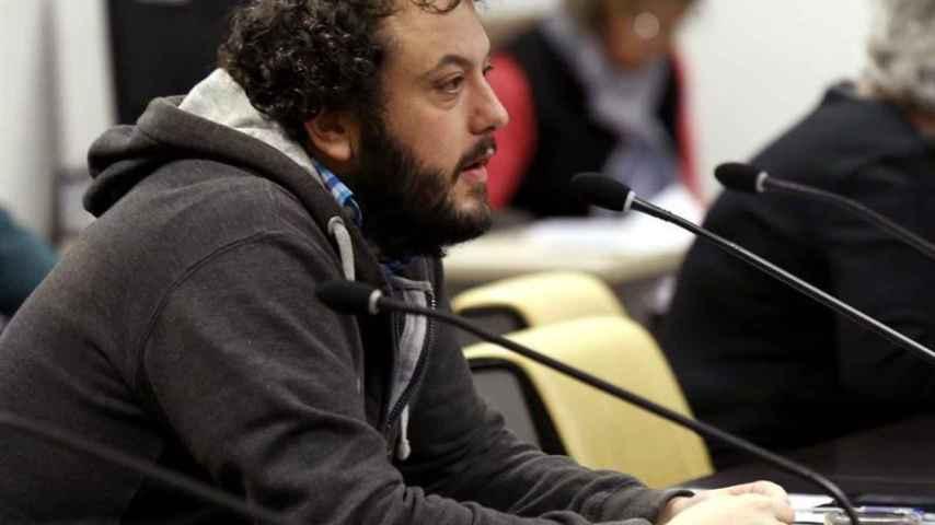 El concejal de Ahora Madrid Guillermo Zapata/Sergio Barrenechea/EFE