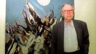 El pintor Joan Josep Tharrats, fundador del movimiento de vanguardia Dau al Set