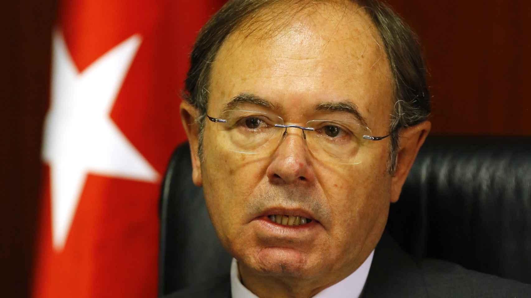 El actual presidente del Senado y expresidente de Fundescam, Pío García-Escudero.