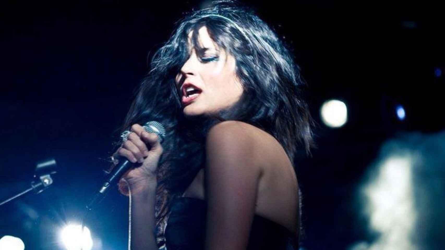 María Reyes en su último concierto en la Sala Sol
