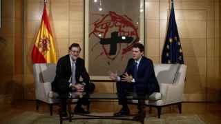 Rajoy y Rivera hablaron por teléfono este martes