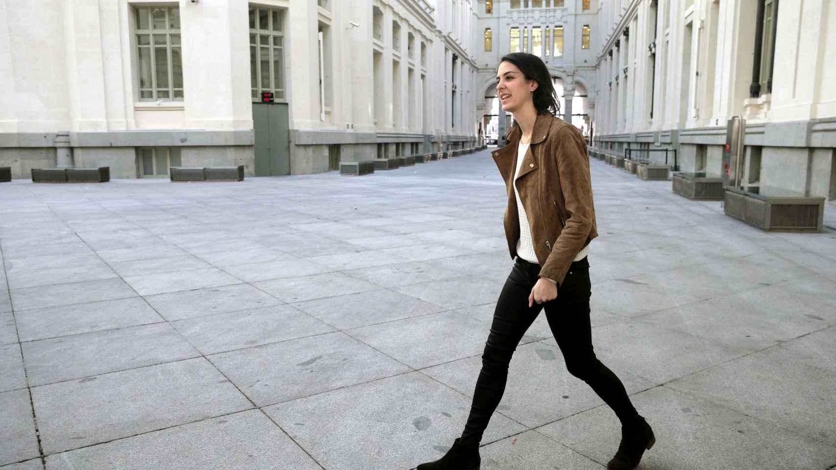 La portavoz municipal de Madrid, Rita Maestre.