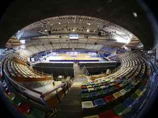 Panorámica del Coliseum de A Coruña, escenario de la Copa 2016.