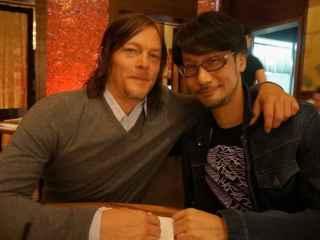 Norman Reedus reunido con Hideo Kojima.