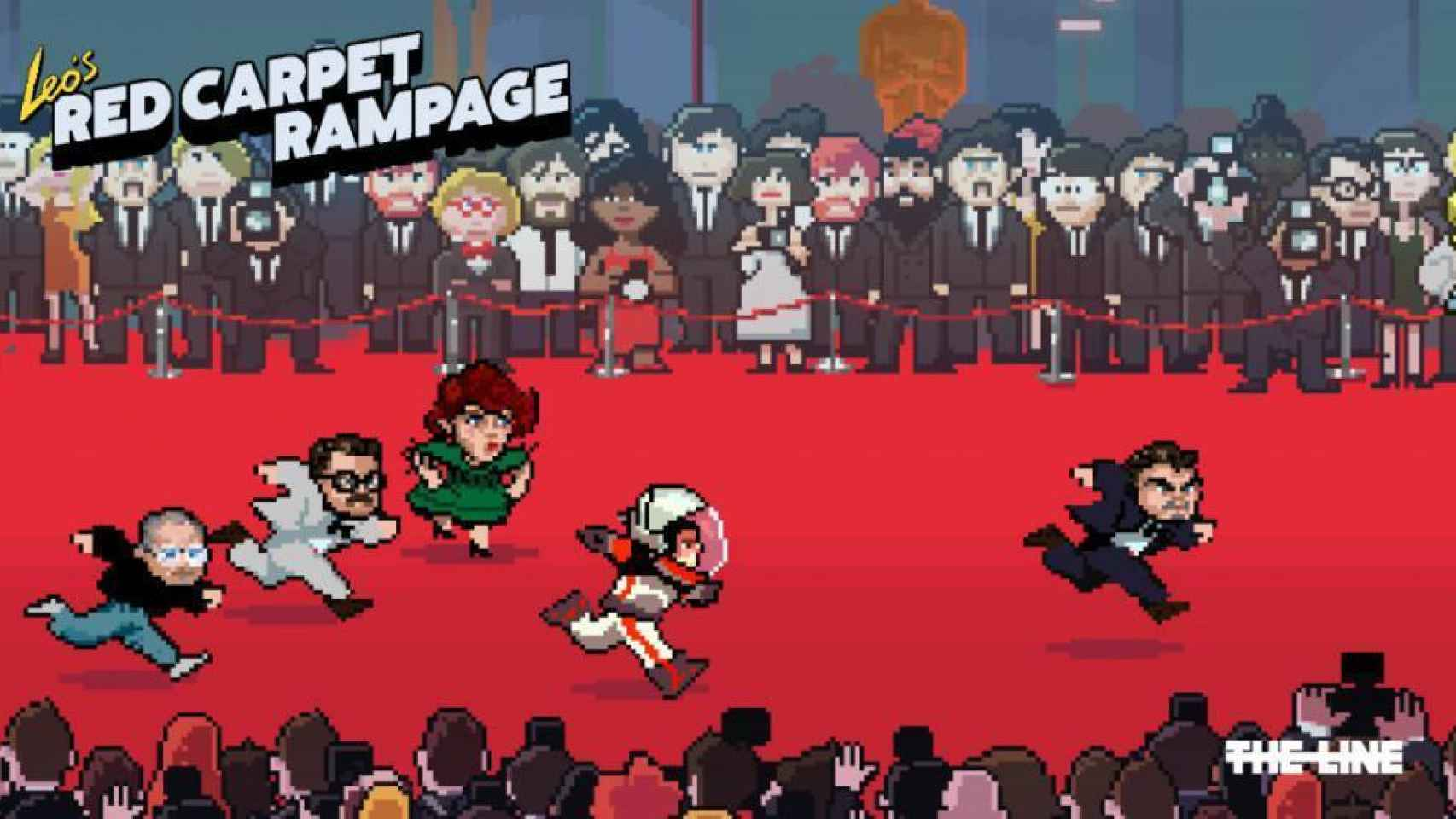 El videojuego Leo's Red Carpet Rampage
