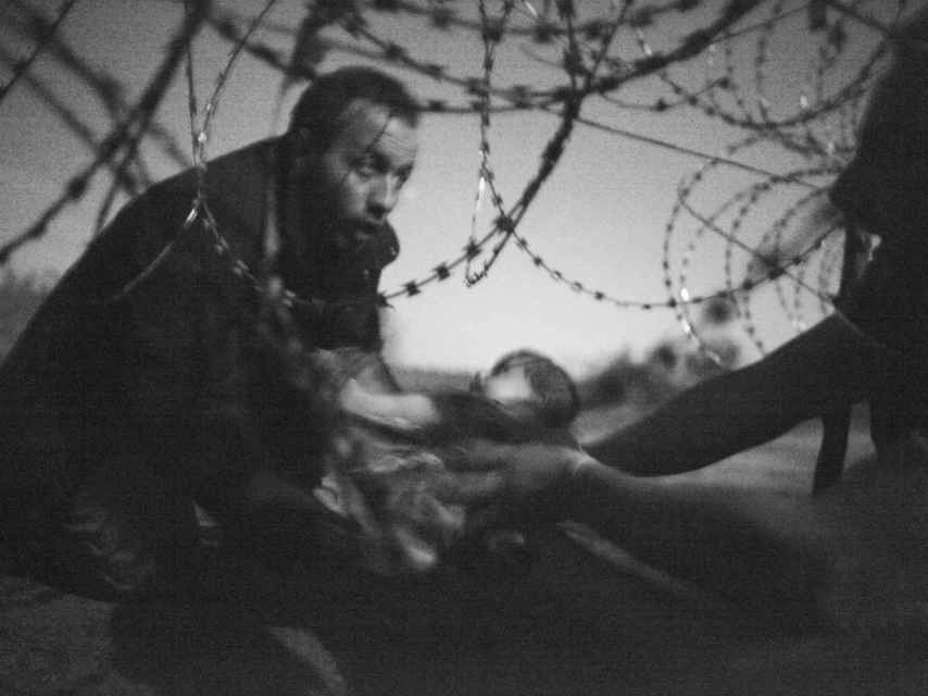 La foto de Warren Richardson, la mejor del año para World Press Photo.
