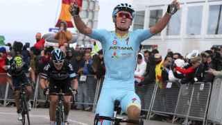 Luis León Sánchez en la vuelta al Algarve