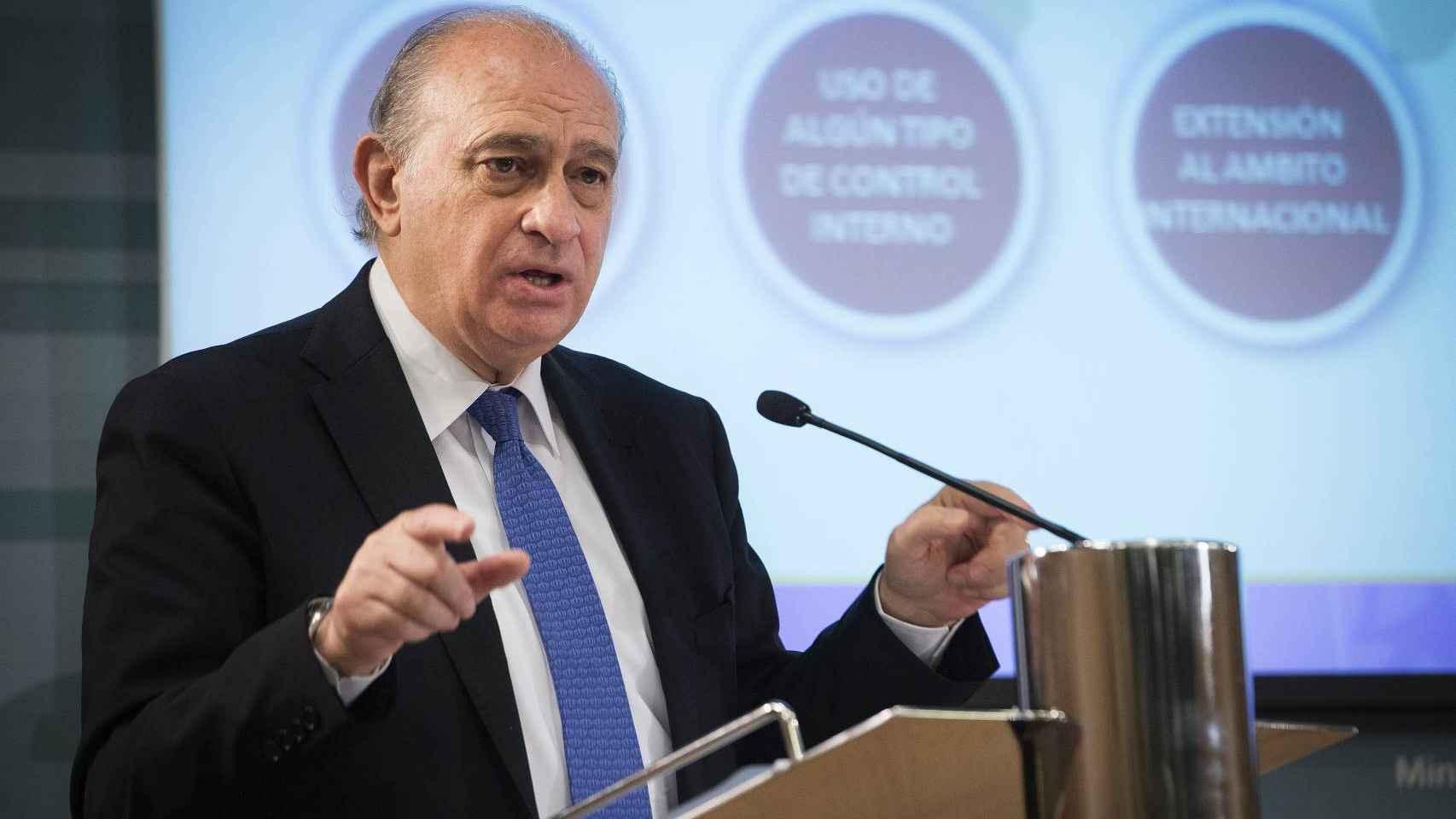 Jorge Fernández Díaz, en la presentación del Balance de la Lucha contra la Corrupción.