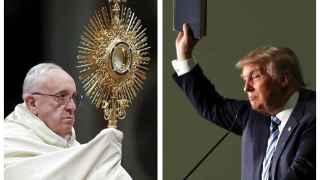 Donald Trump, a la gresca con el Papa: Rezará para que yo sea presidente