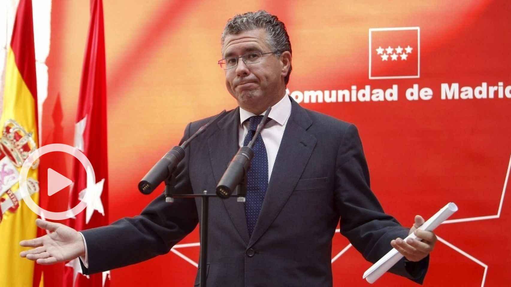 El exsecretario general del PP de Madrid Francisco Granados.