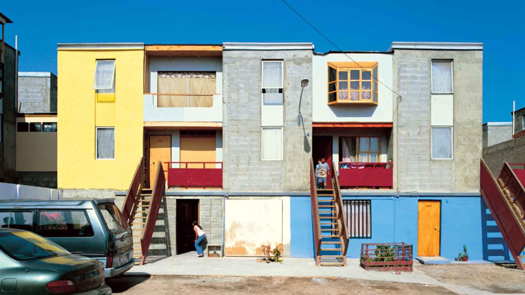 El proyecto de Monroy ocupado y rediseñado por los vecinos.