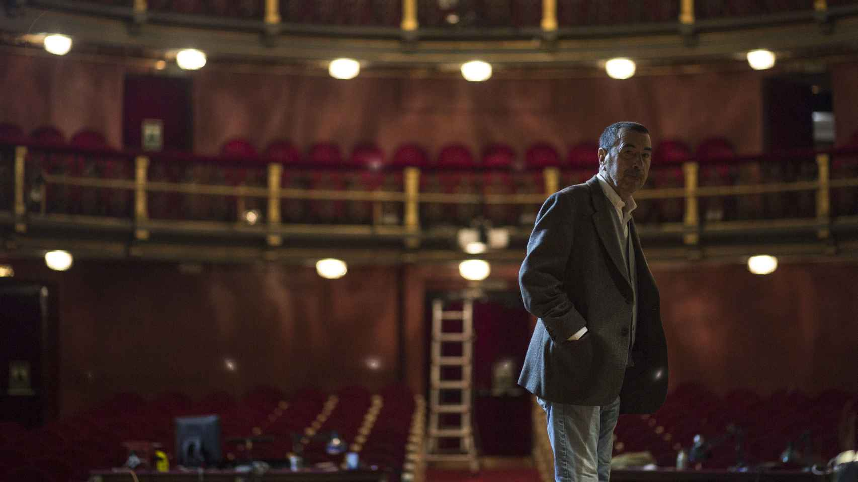 José Luis Garci en el teatro.