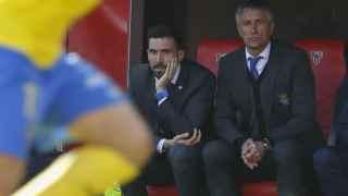 Quique Setién, entrenador de Las Palmas
