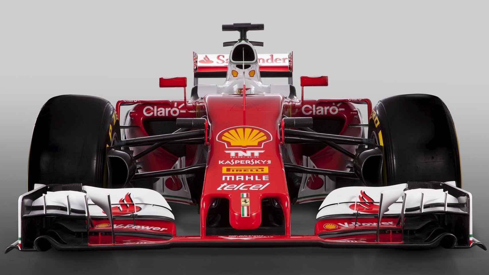 El nuevo monoplaza diseñado en Maranello, el SF16-H.
