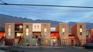 La Quinta Monroy, en Iquique (Chile), un barrio recuperado por los vecinos.