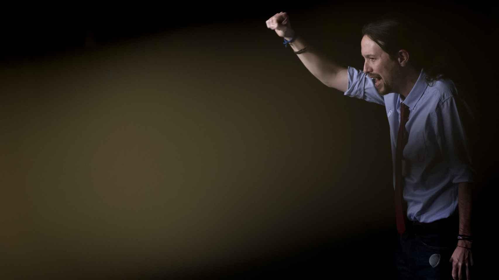 Pablo Iglesias en el madrileño Círculo de Bellas Artes