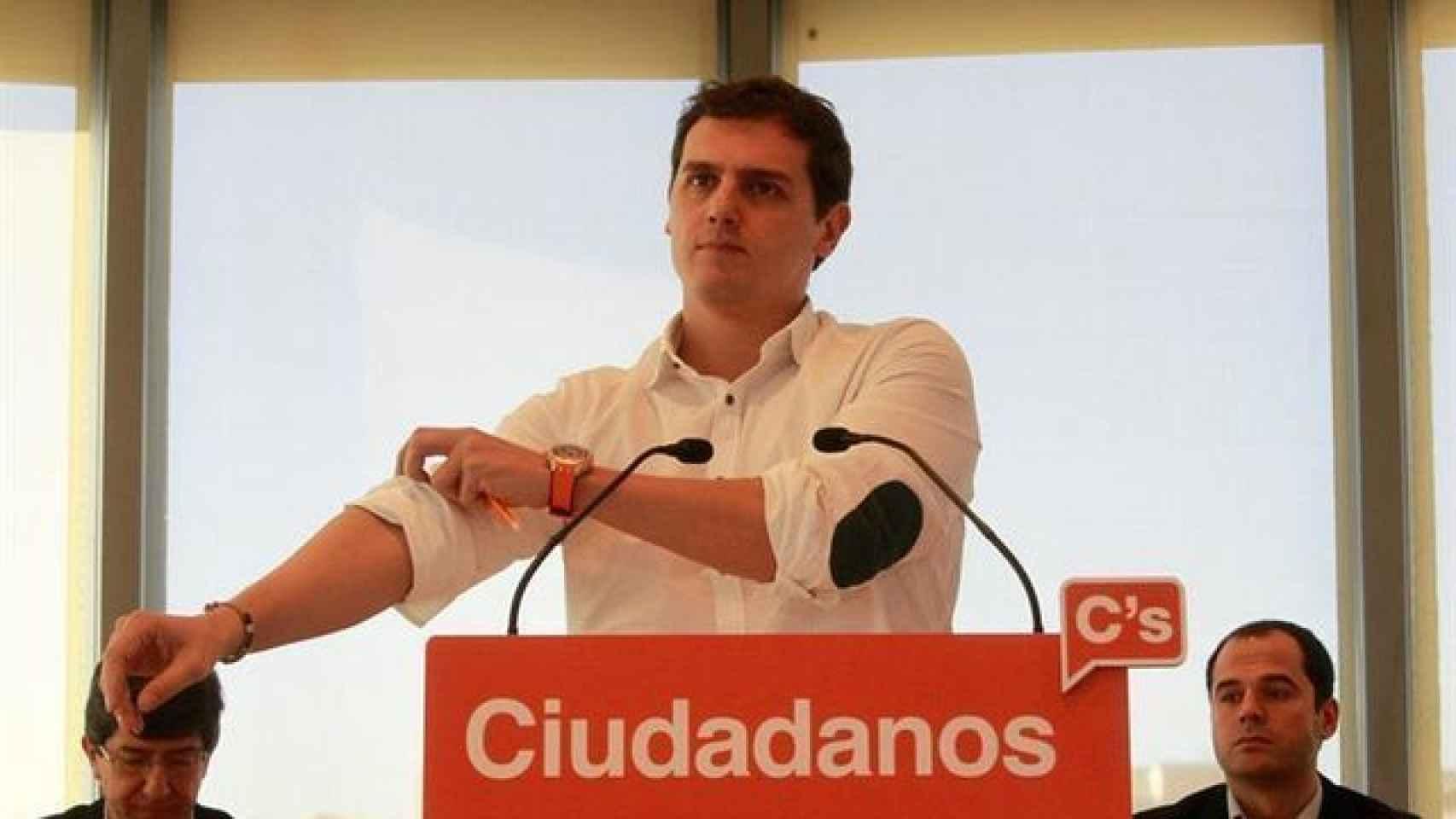 Albert Rivera, en un comité Ejecutivo de Ciudadanos.