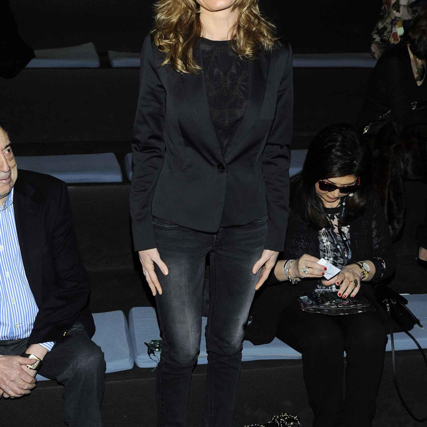Begoña Fernández en la Mercedes Benz Fashion Week Madrid