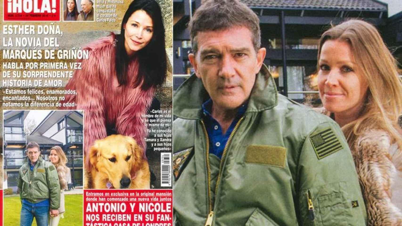 Antonio Banderas ha encontrado la casa de sus sueños y a la mujer de su vida