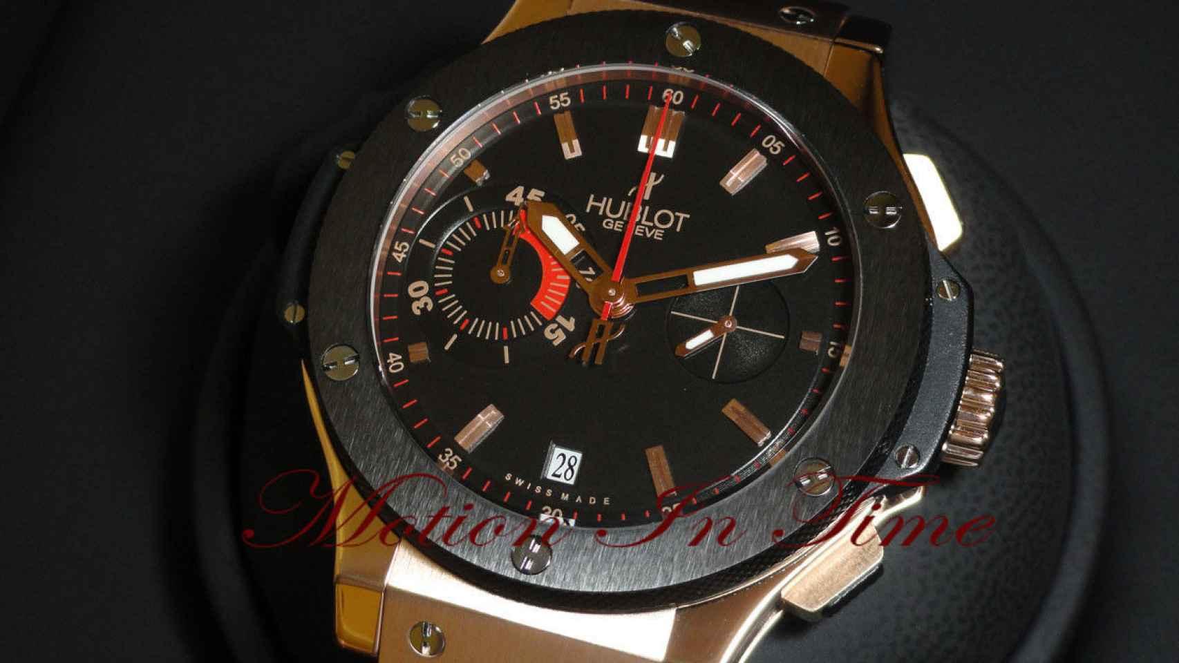 Motion in time subasta el reloj en Ebay por algo más de 22.000 euros.
