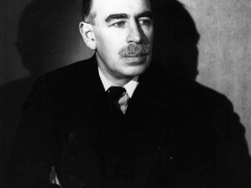 El economista británico John Maynard Keynes