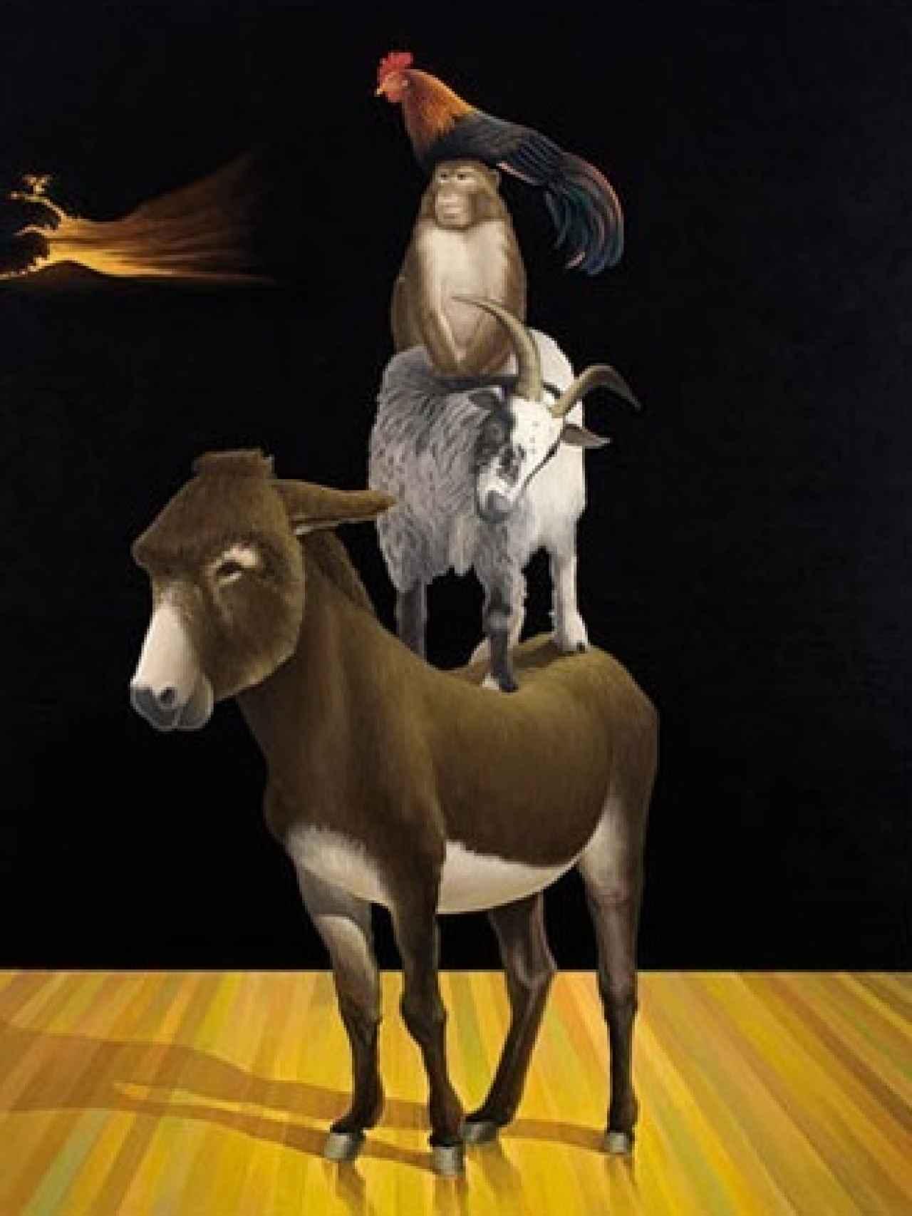 El último amor es el verdadero (2008), obra de Carlos Matallana.