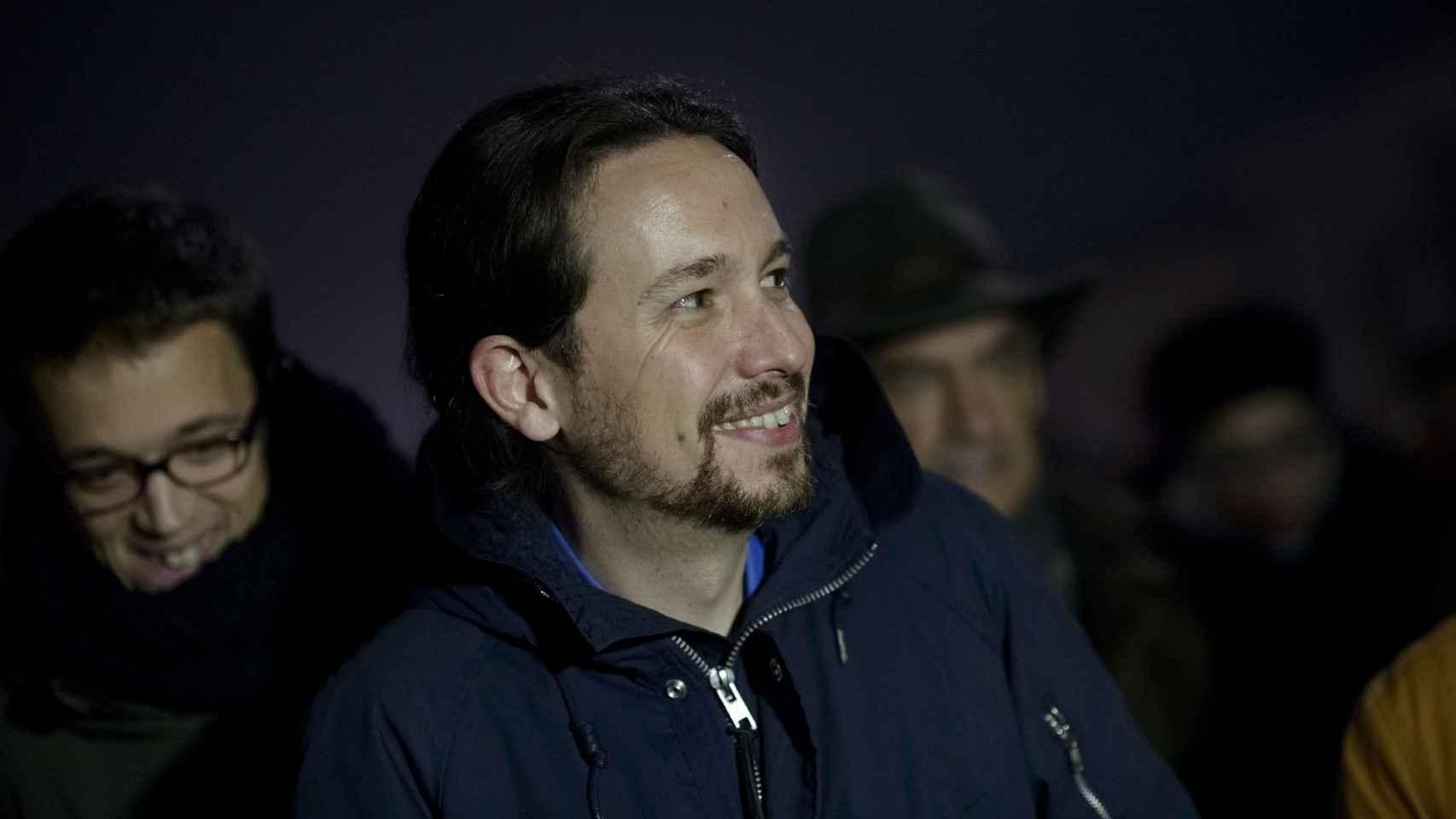 Iñigo Errejón junto a Pablo Iglesias.