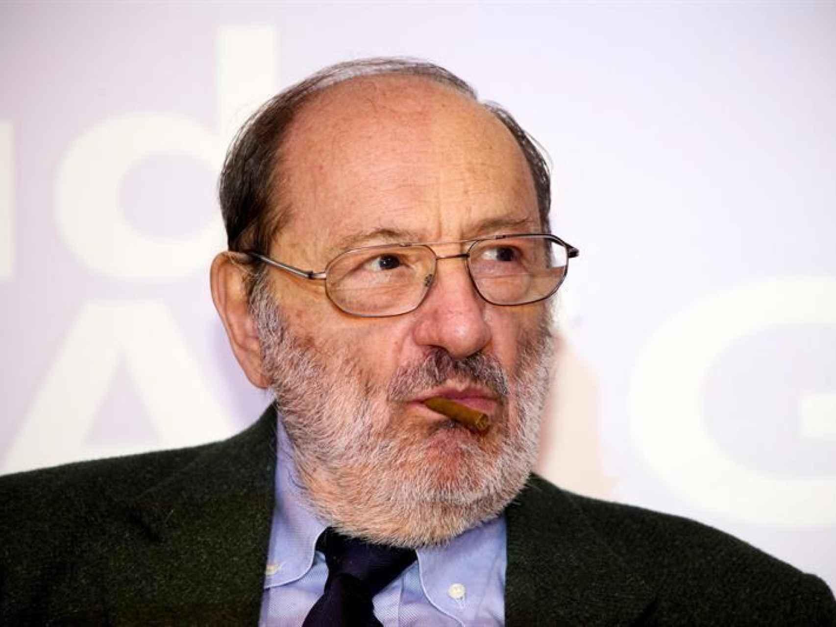 El novelista y filósofo italiano Umberto Eco/EFE