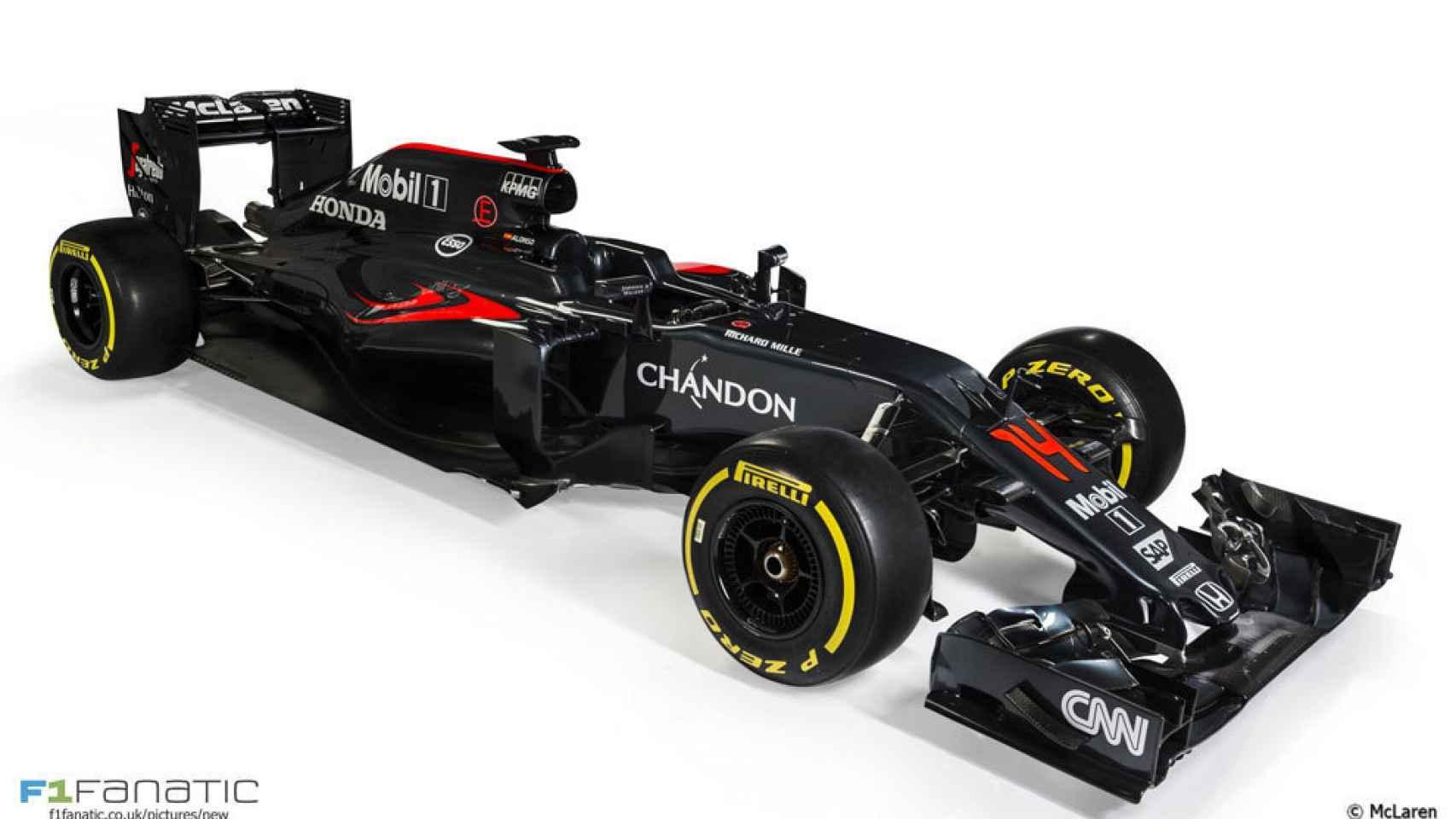 El nuevo McLaren MP4-31
