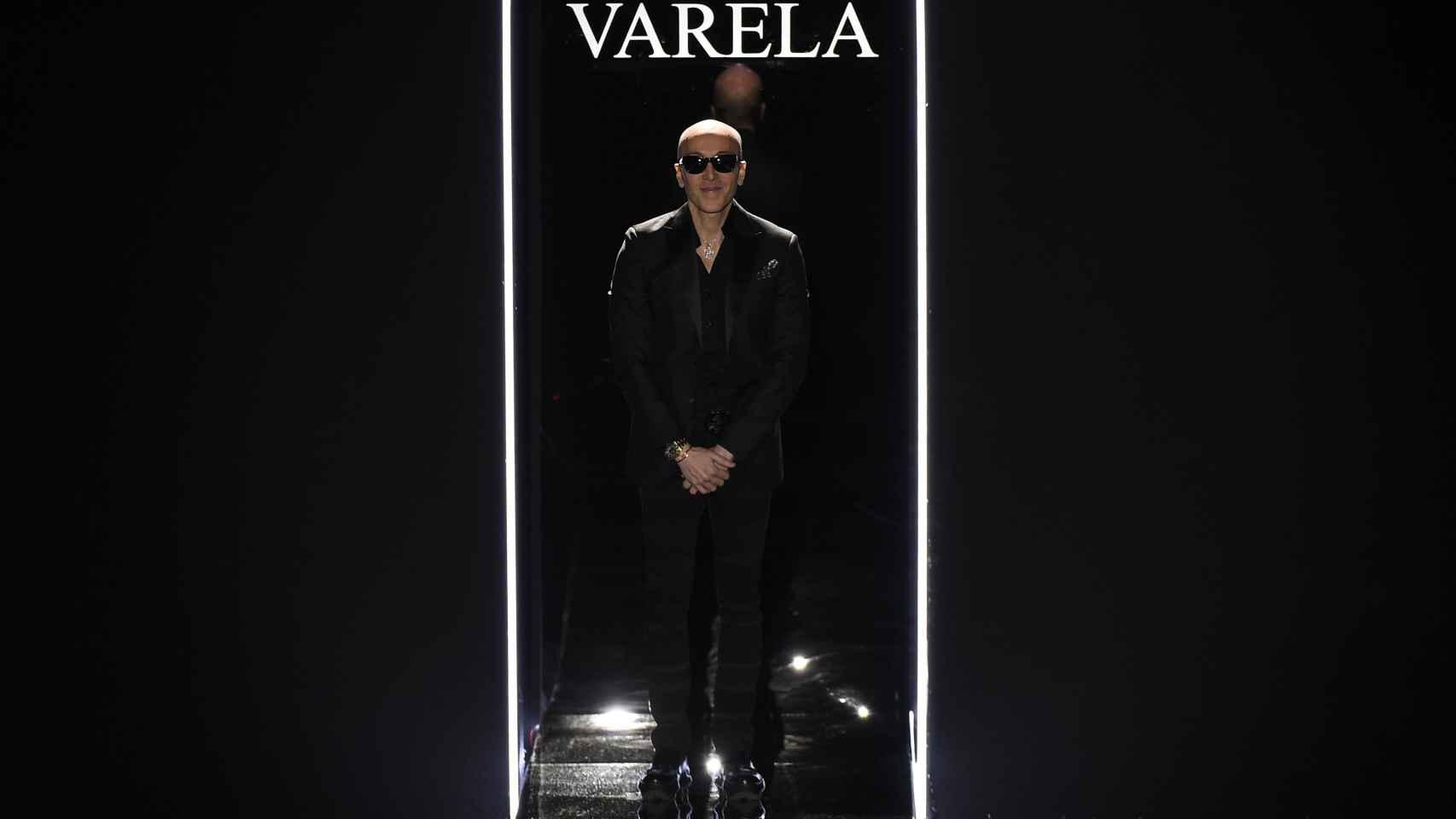 Felipe Varela ha vuelto a desfilar en Cibeles tras
