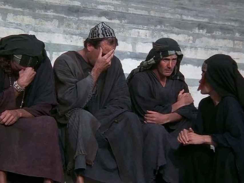 Una escena de la película La vida de Brian (1979).