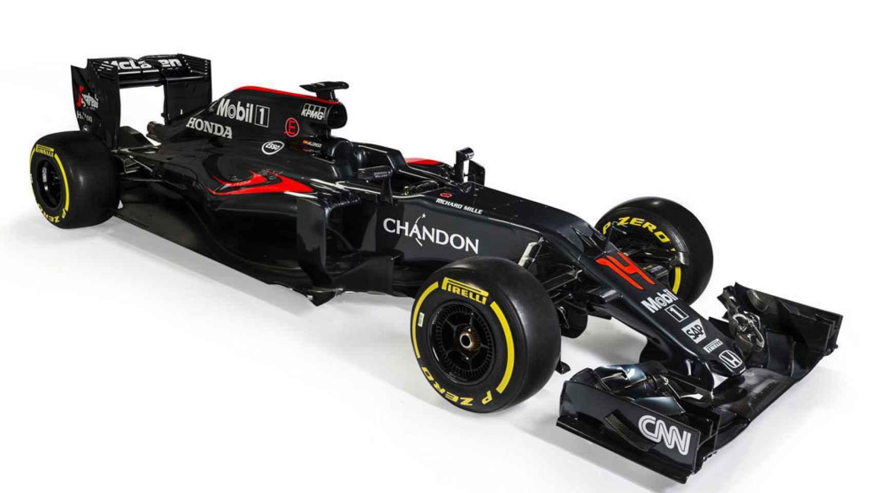 El nuevo McLaren MP4-31.
