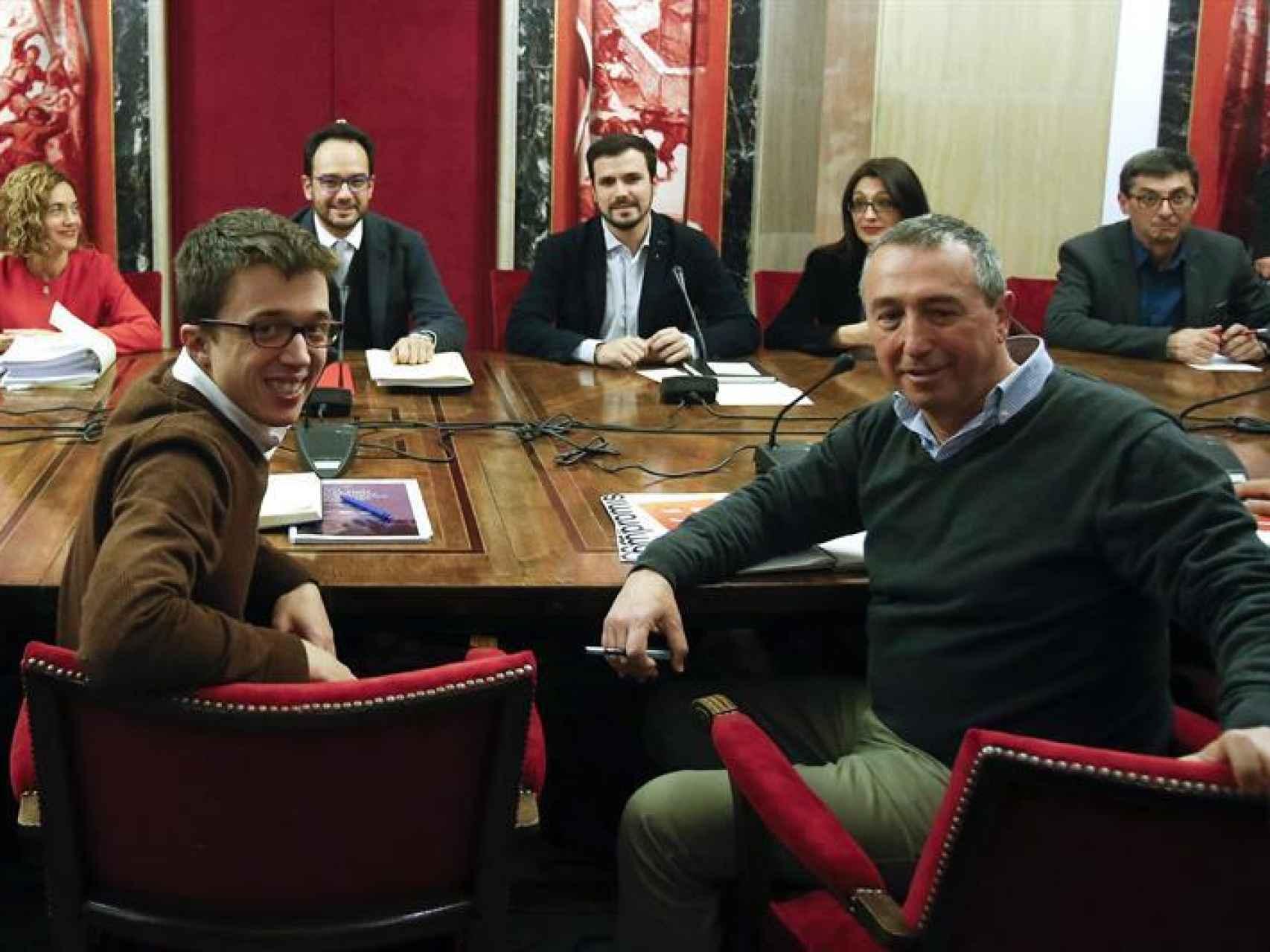 Errejón ha capitaneado el equipo negociador de Podemos en el Congreso