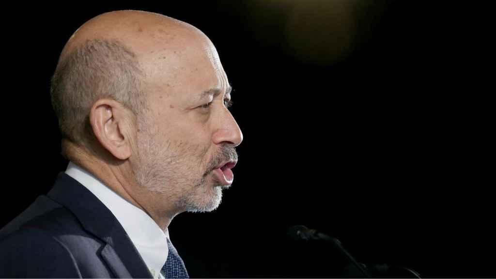 Lloyd Blankfein, primer ejecutivo de Goldman.