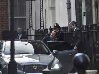David Cameron, camino del debate sobre el 'Brexit' en el Parlamento británico