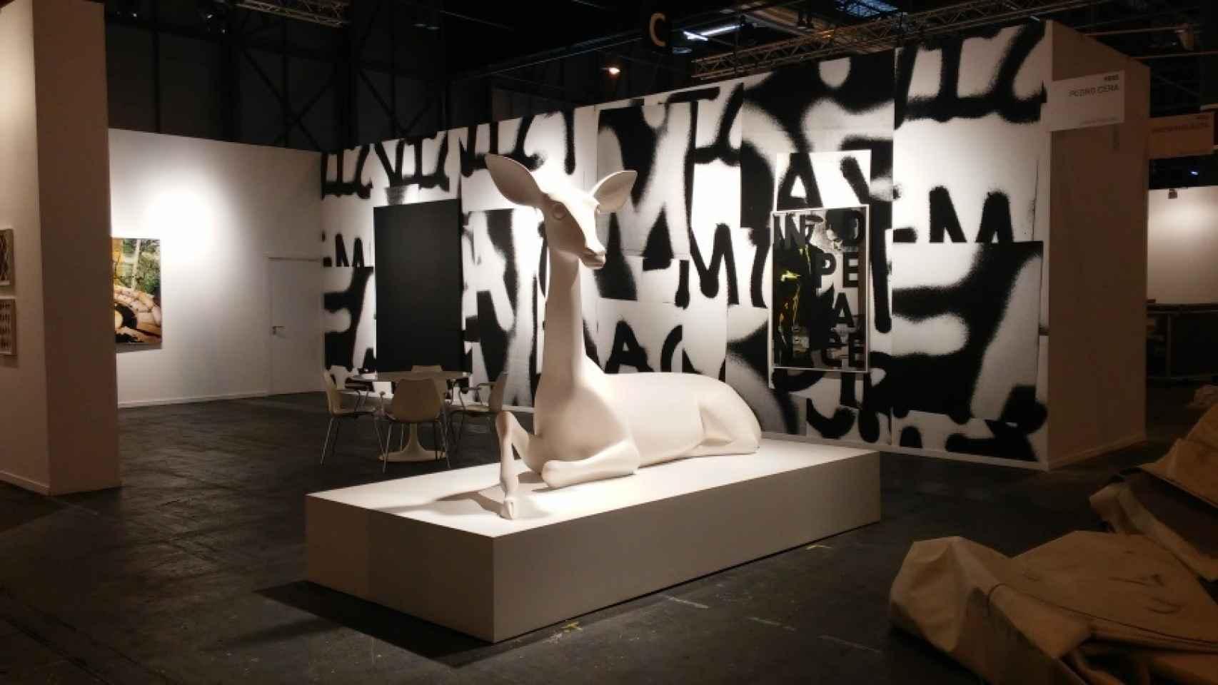 La obra de Miguel Branco, por 50.000 euros.