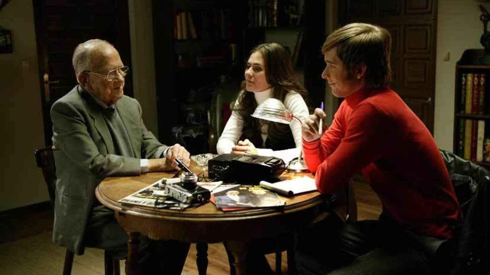Santiago Carrillo hizo un cameo en Cuéntame