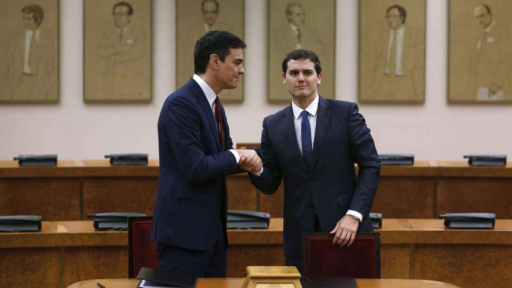 Pedro Sánchez anunció este martes que ha aceptado la propuesta de Ciudadanos