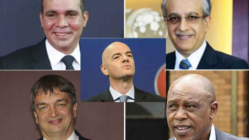Los candidatos a la FIFA.