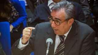 Diego Torres en un momento de su declaración en el juicio Nóos