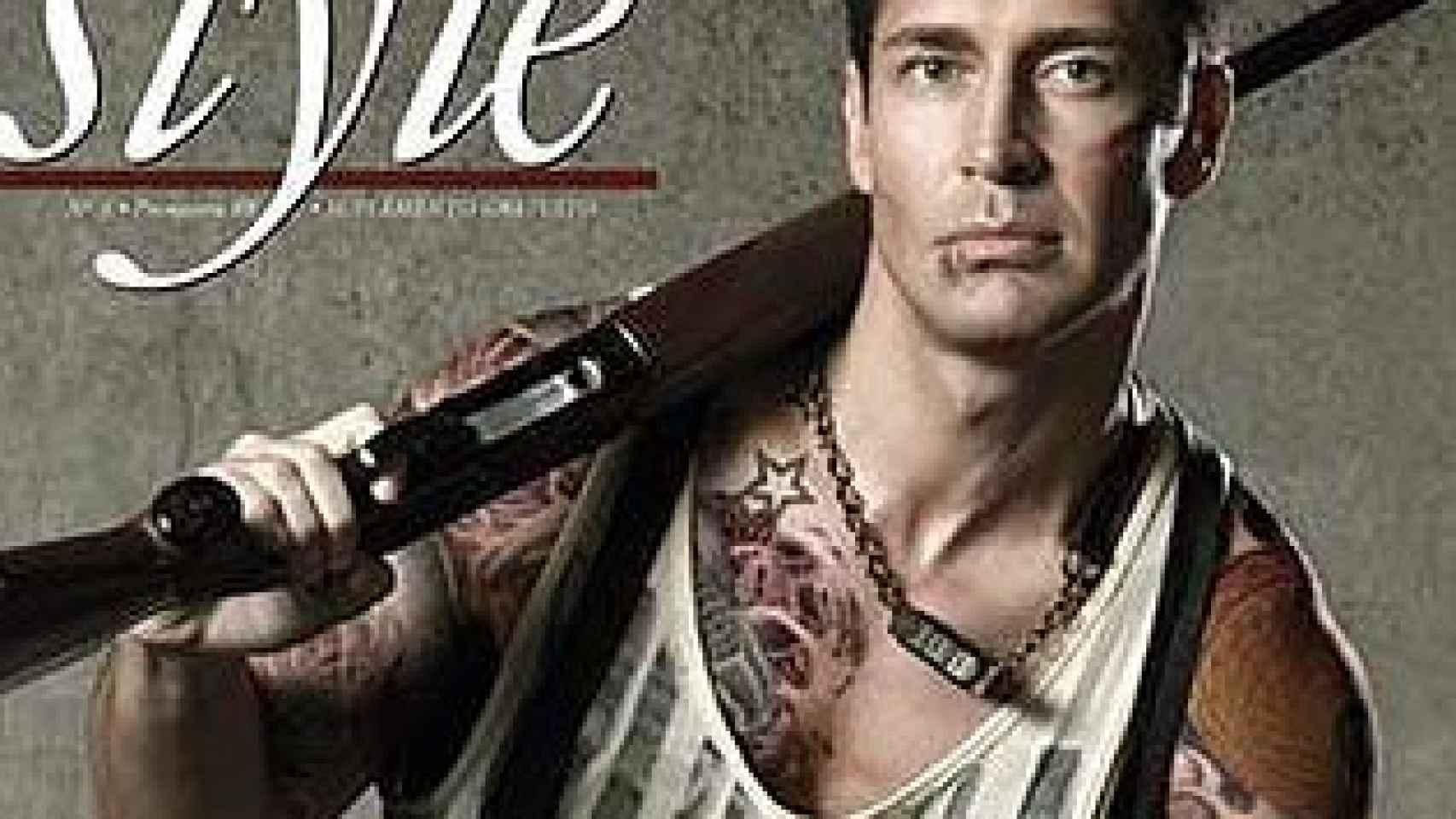 Jaime Cantizano en la portada de Shangay Style