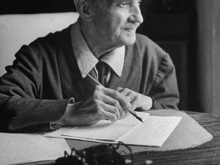 El escritor George Santayana.