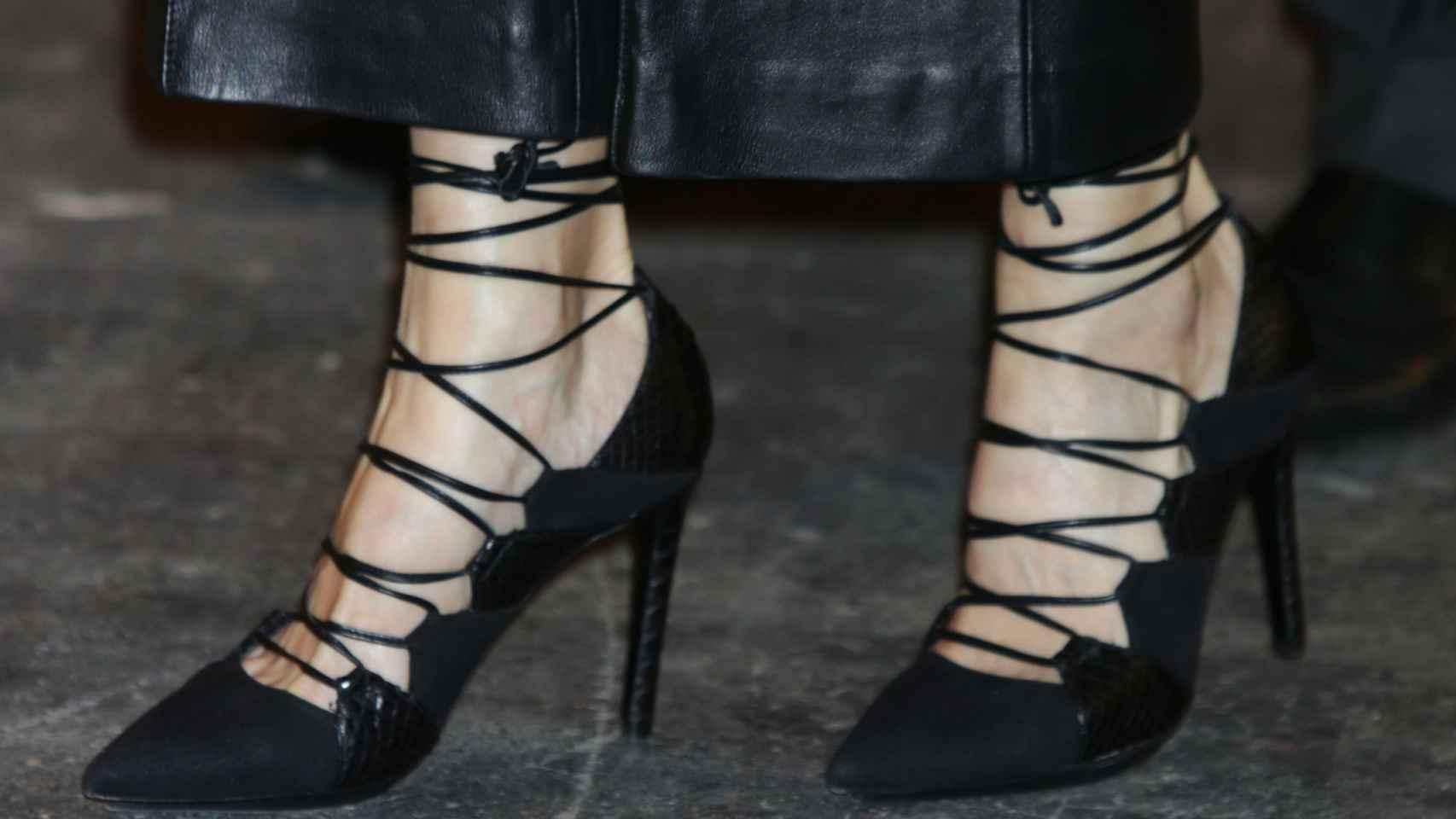 Los zapatos de Magrit de Doña Letizia en ARCO